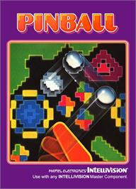 Box cover for Pinball on the Mattel Intellivision.
