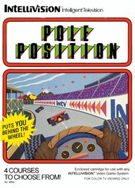 Box cover for Pole Position on the Mattel Intellivision.