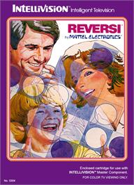 Box cover for Reversi on the Mattel Intellivision.