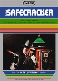 Box cover for Safecracker on the Mattel Intellivision.