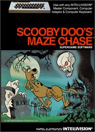 Box cover for Scooby Doo's Maze Chase on the Mattel Intellivision.