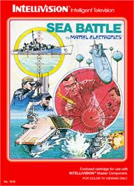 Box cover for Sea Battle on the Mattel Intellivision.