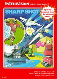 Box cover for Sharp Shot on the Mattel Intellivision.