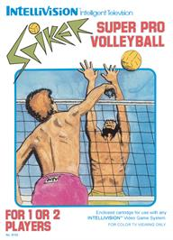 Box cover for Spiker on the Mattel Intellivision.