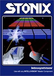 Box cover for Stonix (Beta 1.1) on the Mattel Intellivision.