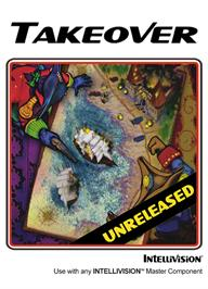 Box cover for Takeover on the Mattel Intellivision.