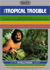 Box cover for Tropical Trouble on the Mattel Intellivision.