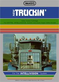 Box cover for Truckin' on the Mattel Intellivision.