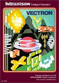 Box cover for Vectron on the Mattel Intellivision.