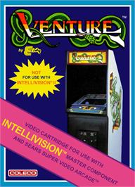 Box cover for Venture on the Mattel Intellivision.