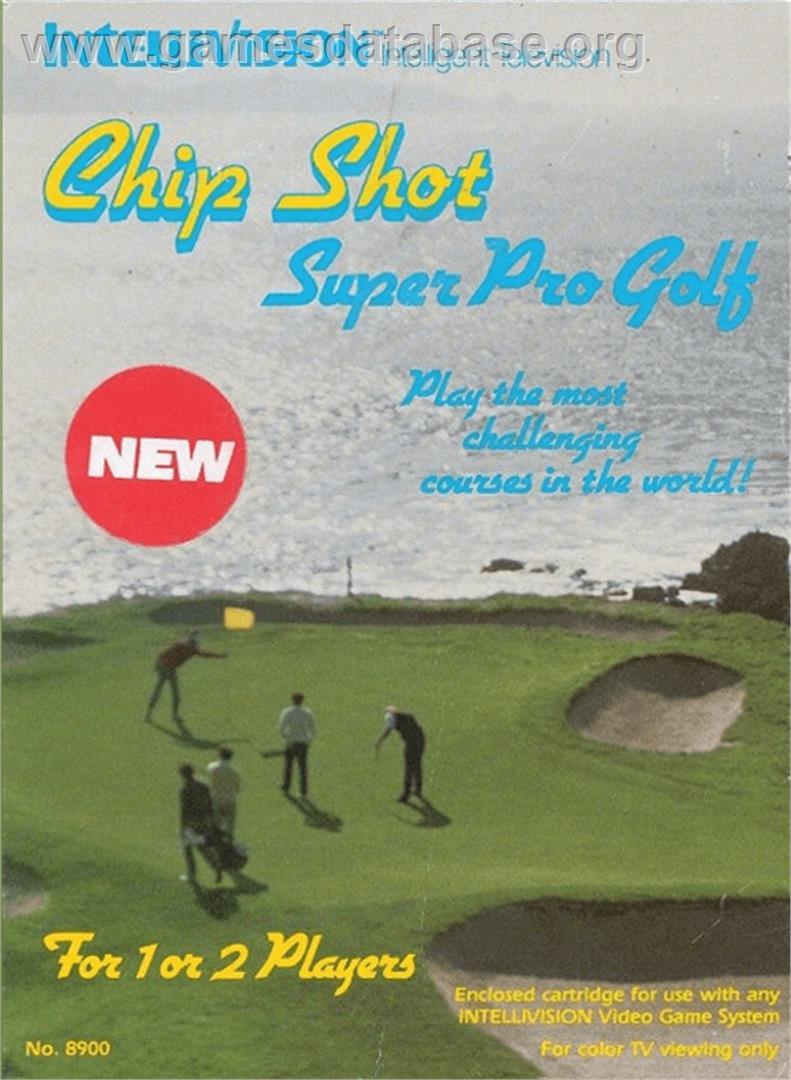 Chip Shot: Super Pro Golf - Mattel Intellivision - Games ...