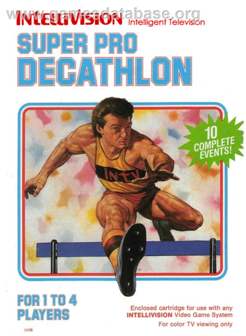 Super Pro Decathlon - Mattel Intellivision - Games Database