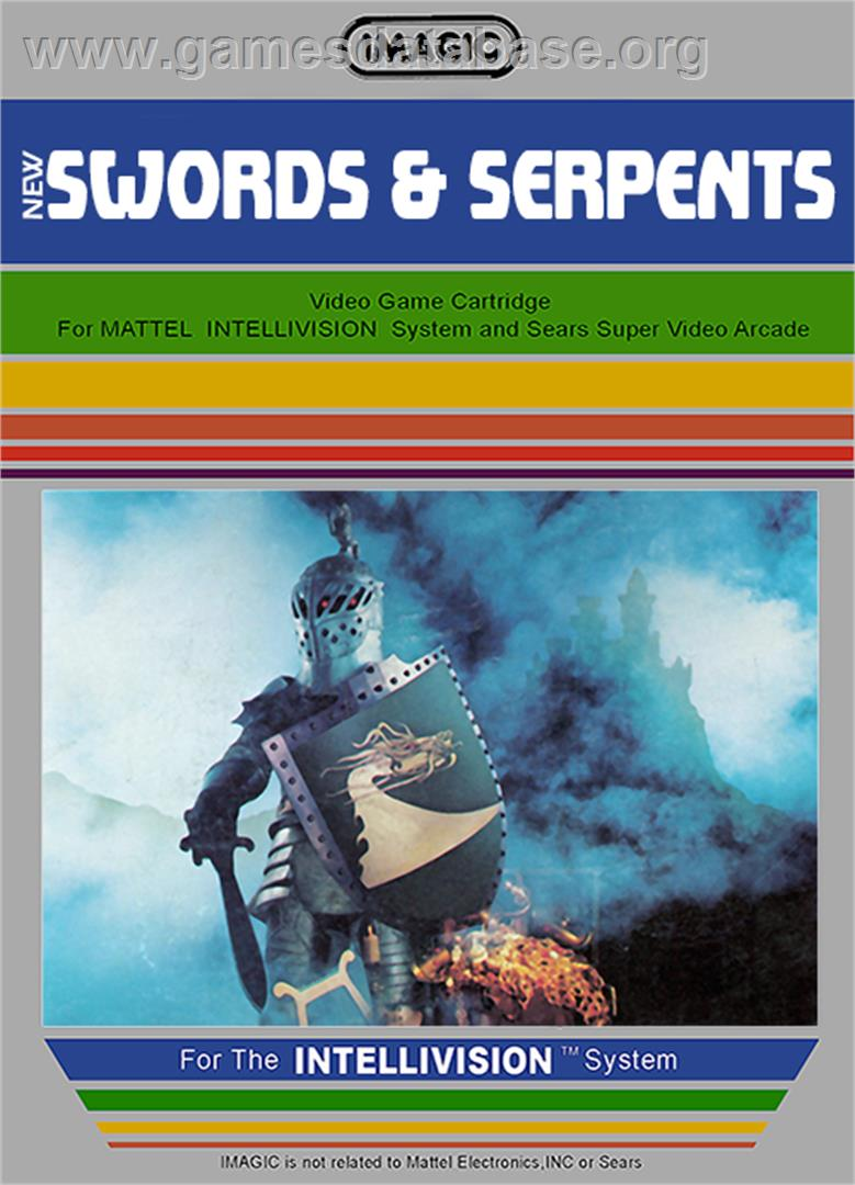 Swords and Serpents - Mattel Intellivision - Artwork - Box