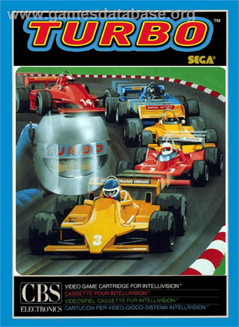 Turbo - Mattel Intellivision - Games Database
