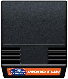 Cartridge artwork for Electric Company: Word Fun on the Mattel Intellivision.