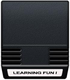 Cartridge artwork for Learning Fun I: Math Master Factor Fun on the Mattel Intellivision.