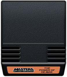 Cartridge artwork for Masters of the Universe: The Power of He-Man on the Mattel Intellivision.