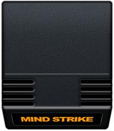 Cartridge artwork for Mind Strike on the Mattel Intellivision.