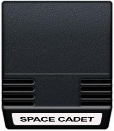 Cartridge artwork for Space Cadet on the Mattel Intellivision.