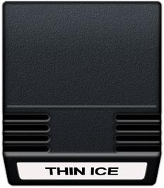 Cartridge artwork for Thin Ice on the Mattel Intellivision.