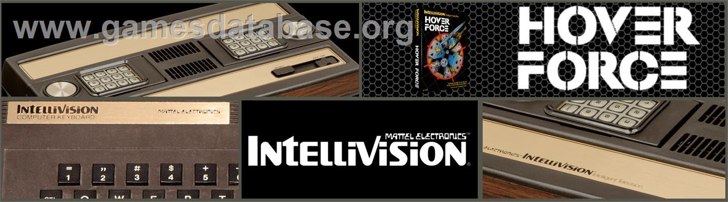 Hover Force - Mattel Intellivision - Artwork - Marquee