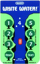 Overlay for White Water on the Mattel Intellivision.