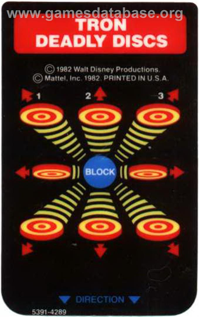 Tron: Deadly Discs - Mattel Intellivision - Games Database