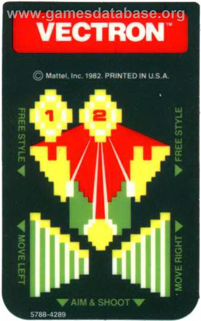 Vectron - Mattel Intellivision - Games Database