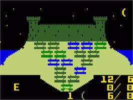 In game image of Advanced Dungeons & Dragons: Treasure of Tarmin on the Mattel Intellivision.