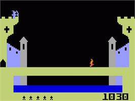In game image of Dragon Fire on the Mattel Intellivision.