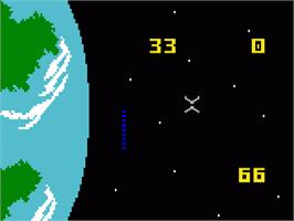 In game image of Dreadnaught Factor on the Mattel Intellivision.