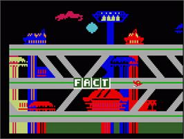 In game image of Jetsons' Ways With Words on the Mattel Intellivision.