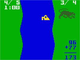 In game image of Learning Fun I: Math Master Factor Fun on the Mattel Intellivision.