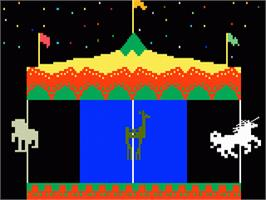 In game image of Magic Carousel on the Mattel Intellivision.