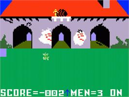 In game image of Mr. Basic Meets Bits 'N Bytes on the Mattel Intellivision.