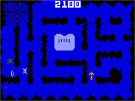In game image of Night Stalker on the Mattel Intellivision.