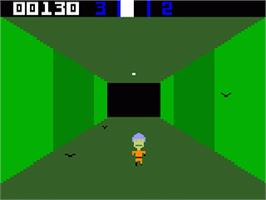 In game image of Sewer Sam on the Mattel Intellivision.