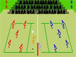 In game image of Spiker on the Mattel Intellivision.