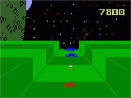 In game image of Star Strike on the Mattel Intellivision.