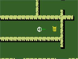 In game image of Swords and Serpents on the Mattel Intellivision.