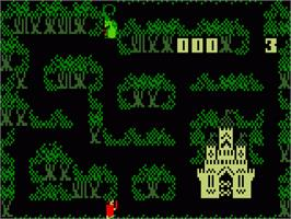 In game image of Thunder Castle on the Mattel Intellivision.