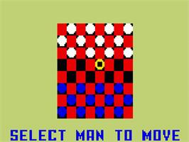 In game image of Triple Challenge on the Mattel Intellivision.