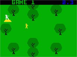 In game image of White Water on the Mattel Intellivision.