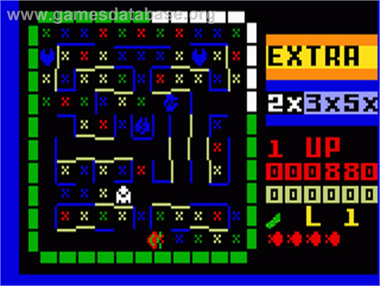 Lady Bug - Mattel Intellivision - Games Database