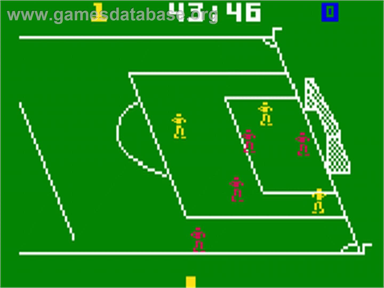 NASL Soccer - Mattel Intellivision - Games Database
