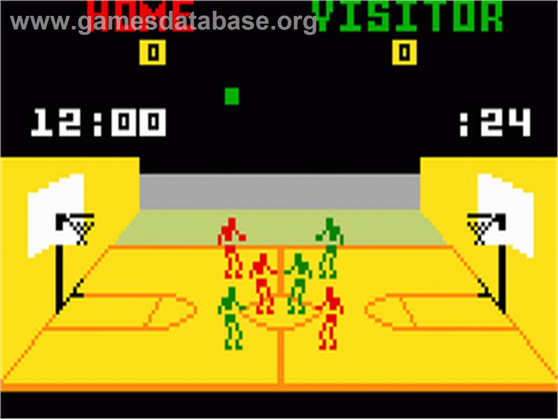 NBA Basketball - Mattel Intellivision - Games Database