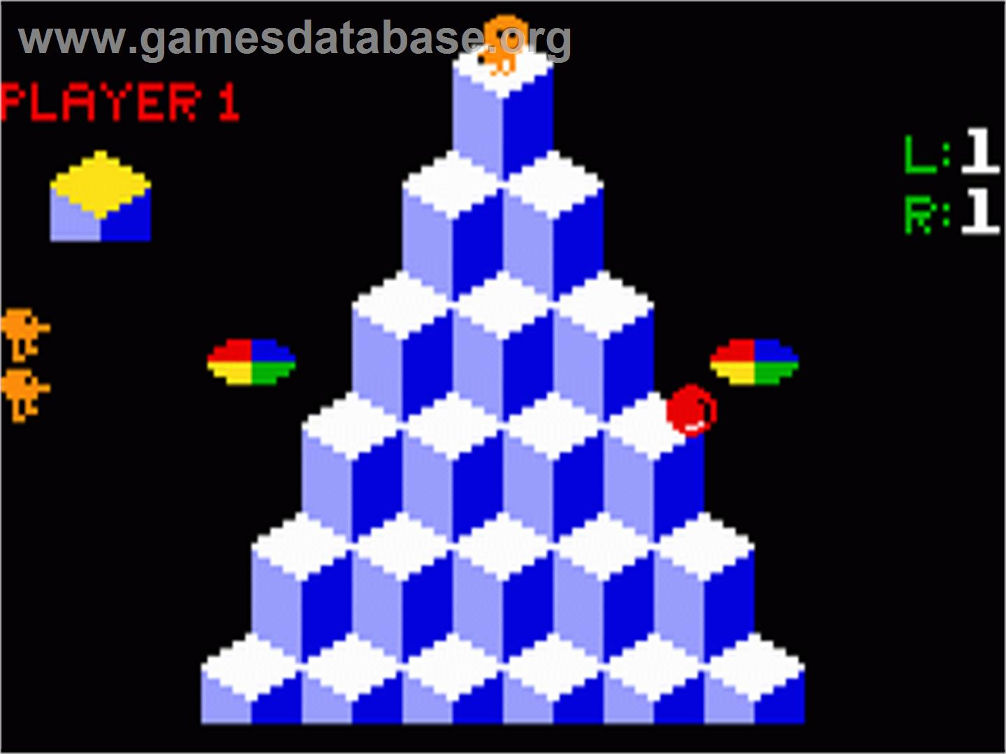 Q*bert - Mattel Intellivision - Games Database