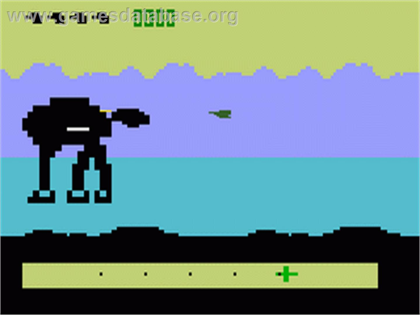 screen shot of Star Wars Empire Strikes Back video game