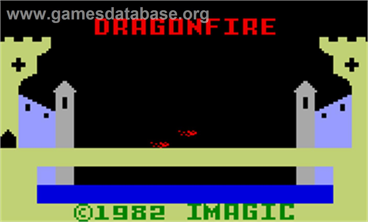 Dragon Fire - Mattel Intellivision - Artwork - Title Screen