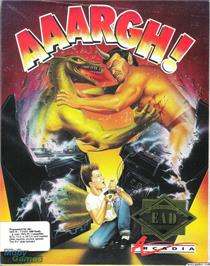 Box cover for AAARGH! on the Microsoft DOS.